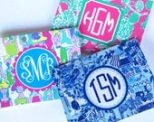 Personalized Lilly folded notecards