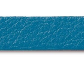 Turquoise Blue Leather Bracelet Strap - 10 x 1/2 inch - TierraCast USA leather strap - jewelry bracelet strap - leather for jewelry