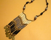 Bohemian Necklace Ethnic Necklace Beaded Necklace Gypsy Necklace