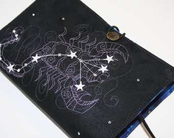 Scorpio  Embroidered Book Cover