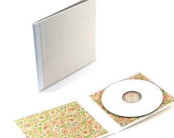 CD case light grey soft pink