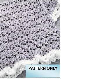 CROCHET PATTERN - Summer Flowers Afghan/Blanket