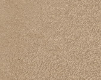 """5357- Genuine  Leather Fabric/recycled leather/leather material/light biege/leathercraft supply/leather projects/11.5""""x9.75""""/Woolen"""