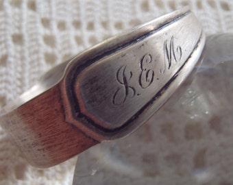 Vintage Napkin Ring Rogers Lunt & Bowlen Sterling