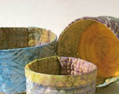 Fabric Bowls Baskets Storage Set
