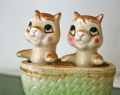 Vintage Japanese Chip and Dale Chipmunk Figurine