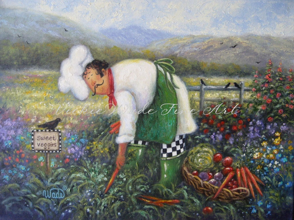 Oil Paintings Of Chefs