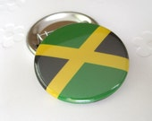 Jamaican flag Pinback Button Badge, pins for backpacks, Pinback Button gift, Button OR Magnet - 1.5″ (38mm)