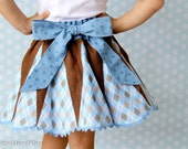 Retro Glam Skirt Sewing Pattern - Sizes 6-14 plus doll