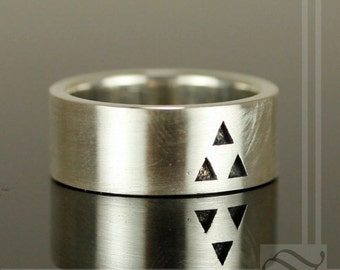It's Dangerous to Go Alone - Triforce Wedding Band