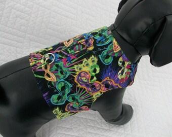 Mardi Gras Harness Vest   Dog Harness Vest Custom Made