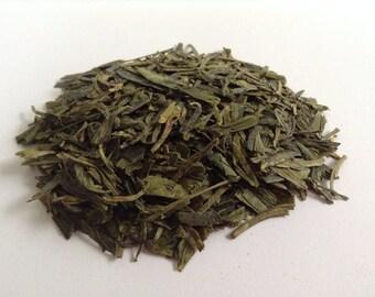 DRAGONWELL GREEN TEA (Organic Chinese Green tea) Sample Sizes