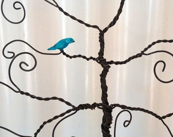 Add a Blue Bird Pet Sculpture to any Jewelry Tree