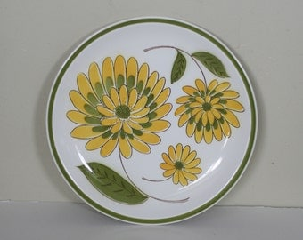 vintage mid century dinner plate by mikasa tampa pattern