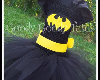 I'M BATGIRL Batman Inspired Tutu Dress