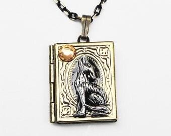 Werewolf Locket Necklace