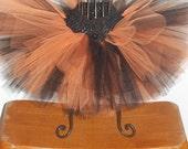 Black and Orange Halloween Tutu sizes Newborn 3 mo 6 mo 9 mo 12 mo 18 mo 24 mo 2t 3t 4t 5 6 8 10 12 14