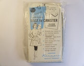 Vintage Vacuum Cleaner Bags For Canister Vacuum Cleaners  Package Of 4  NOS