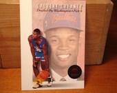 Calbert Cheaney Draft Pick Card, Vintage Basketball Card, Washington Bullets, NBA, Card,  Indiana Hoosiers, Sports Card