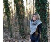 Hunter Vest/Sweater- SELECT COLOR- Wool Blend/ Katniss Cowl