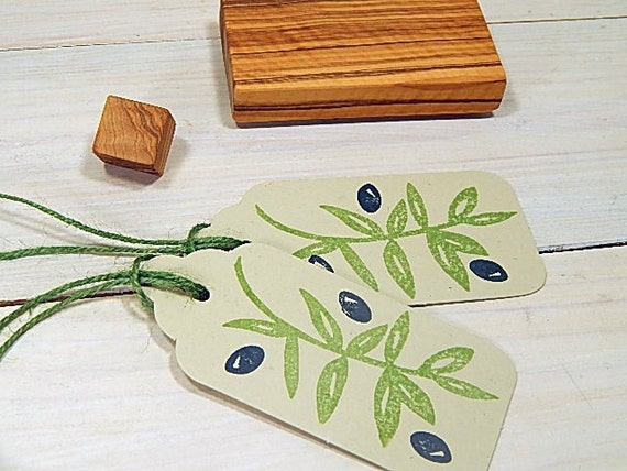 Large Olive Branch 2 Stamp Set