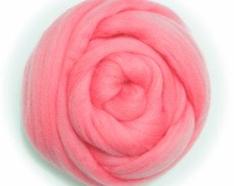 Fine Merino Wool Felt for felting 50g Light Pink Perfect in Wet Felt From Japan ME019