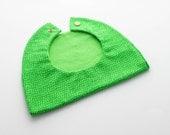 Green Grass Baby Boy Bib / Toddler Infant Bib Free Shipping Made in Israel by CasaDeGato