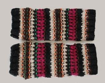 KNITTING PATTERN- Adult Leg Warmers PDF knitting pattern