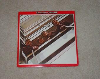 Vintage Vinyl LP Record Album The Beatles 1962 to 1966
