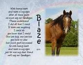 Horse Personalized pet memorial With heavy heart photo  Horse picture Horse frame