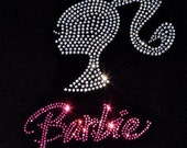 Rhinestone Barbie Shirt- Tank Top, Short Sleeve, Long Sleeve or Onesie
