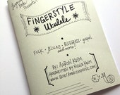 Fingerstyle Ukulele Book - Instructional Book - Handwritten