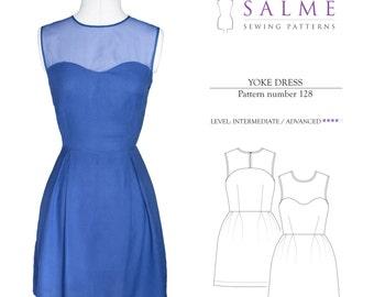 Yoke Dress PDF Sewing pattern
