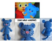 Amigurumi Crochet Tigey inspired by Daniel Tiger's Neighborhood on PBS - PATTERN Only -
