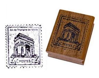 Triumphal Arch Stamp (1.2 x 1.4in)