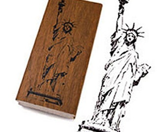 New York Statue of Liberty Stamp (1.2 x 1.4in)