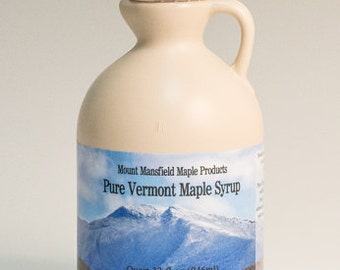 Quart Pure Vermont Maple Syrup (Choice Grade)