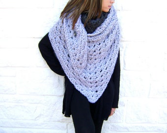 SAMPLE SALE - regular price 85 - Giant Fall Granny Scarf