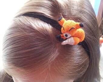 Fox headband - fox hair accessory - Toddler,child adult sizes - girls headband - hair accessory
