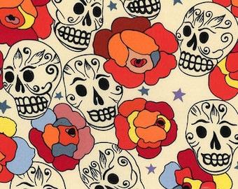 Day of the Dead- Alexander Henry Estrella de los Muertos 1 Yard Fabric