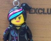 Wyldstyle Necklace - Lego Minifigure - from The Lego Movie