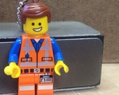 Emmet Necklace - Lego Minifigure - from The Lego Movie