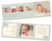 INSTANT DOWNLOAD Photography Marketing - 5x5 Trifold Brochure Template - 0802