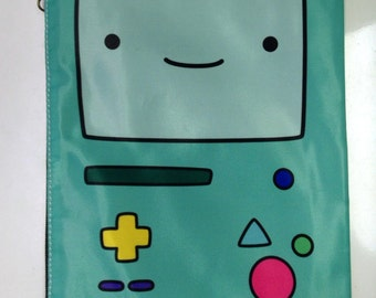 Adventure Time BMO Double Sided Zip Bag