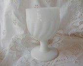 Vintage Milk Glass Small Egg Cup/Shot.