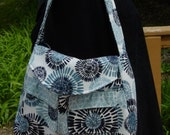Hobo Diaper Bag Purse Shoulder Bag   Travel Tote   MADE and READY to SHIP