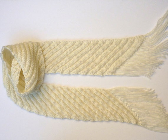 Knitting On The Bias Shawl Pattern : Pdf knitting pattern scarf bias stripe striped