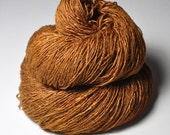 Camel gone wild - Tussah Silk Fingering Yarn