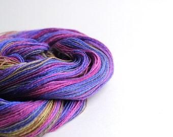 Handspun Yarn - Organic Polwarth/Silk - Lace