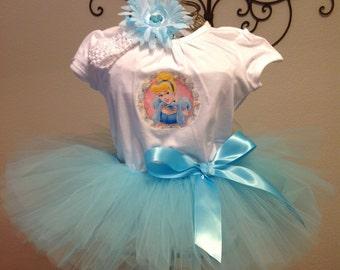 Cinderella Tutu Outfit - Infant